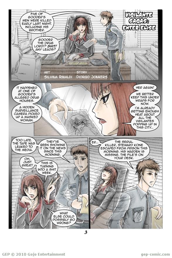 Vigilante Sagas: Enter Elise